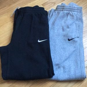 Two Pairs of Boys Nike Sweatpants